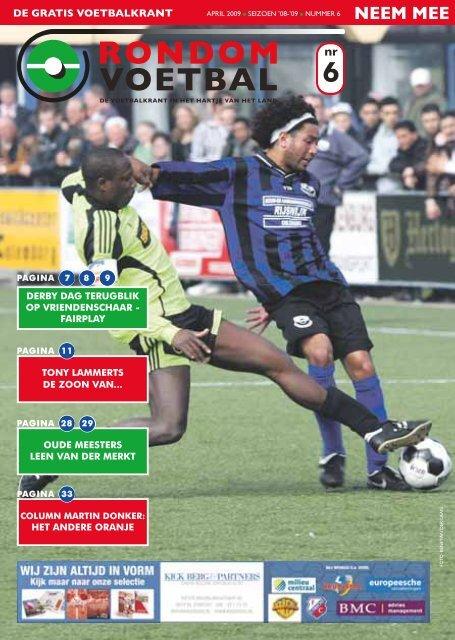seizoen 2008/2009 nummer 6 - Rondom Voetbal