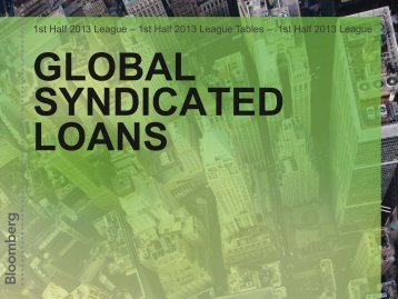 Syndicated Loans - Bloomberg
