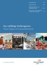 HM_Stoffprospekt 2005 - Mariva Sonnenschutzsysteme