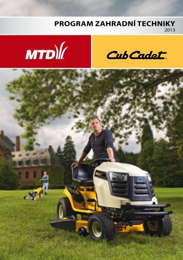 Katalog MTD 2013 ke stažení - GARLAND distributor, sro