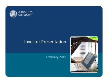 Apollo Group Inc - Rational Investing