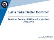 Let's Take Better Control - PDI 2012