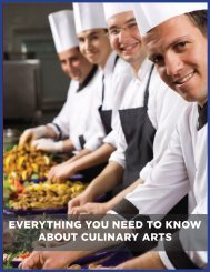 everything you need to know about culinary arts - Career Speed