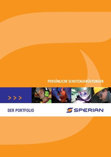 Sperian - 0 44 47 96 10 13 Fax: 0 44 47 96 10 15 E-Mail: info ...