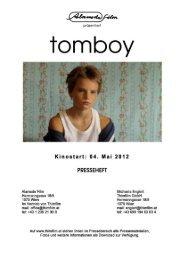 Tomboy - Presseheft - Thimfilm
