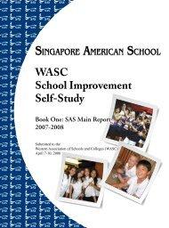 WASC Report (pdf) - Singapore American School