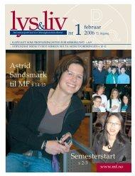 Lys & Liv 01-2006 web - Det teologiske Menighetsfakultetet