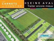 Carnet de chantier - Seine aval DERU - SIAAP
