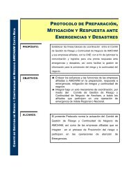 protocolo de preparación, mitigación y respuesta ante ... - Amcham