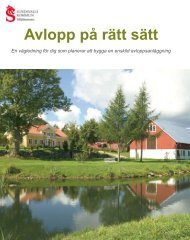 Avlopp på rätt sätt - Sundsvall
