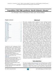 Channell et al IODP 2010.pdf - Department of Geological Sciences