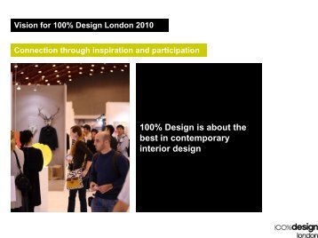 100% Design is about the best in contemporary interior design