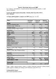 Návrh- Závěrečný účet za rok 2009