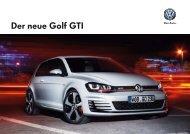 Der neue Golf GTI - Volkswagen AG
