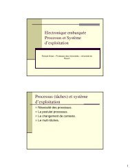 Process et Système d'exploitation