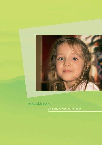 Retinoblastom - Österreichische Kinder-Krebs-Hilfe