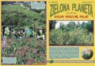 rośliny inwazyjne polski