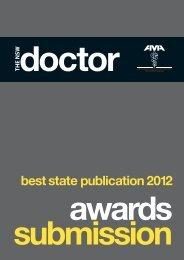best state publication 2012 - Australian Medical Association NSW