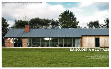 DA SCUDERIA A COTTAGE - David Kohn Architects