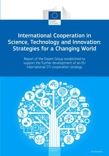 Draft Report of the Expert Group on International STI Cooperation to ...