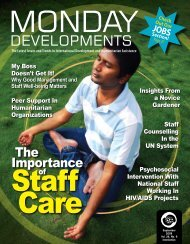 Monday Developments - Greenleaf Integrative Strategies