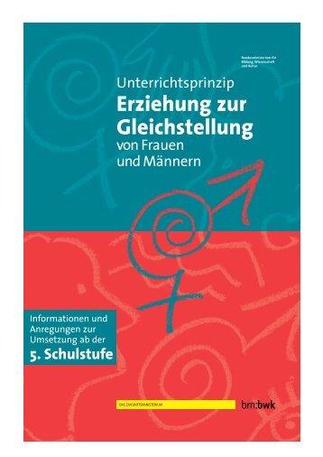 Erziehung zur Gleichstellung - Bundesministerium für Unterricht ...