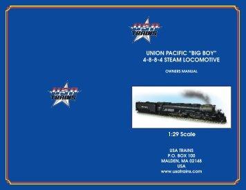 """union pacific """"big boy"""" - USA Trains"""