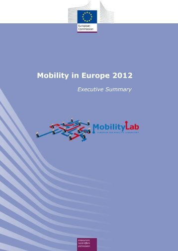 Mobility in Europe 2012 - Eures
