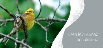 Eesti levinumad põllulinnud - Põllumajandusuuringute Keskus
