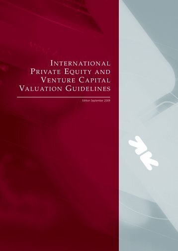 International Private Equity and Venture Capital Valuation ... - hkvca