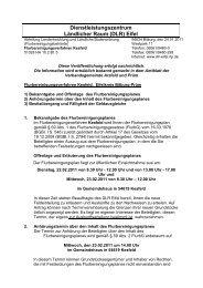 Dienstleistungszentrum Ländlicher Raum (DLR) Eifel