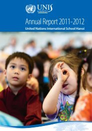 Annual Report 2011-2012 - United Nations International School of ...