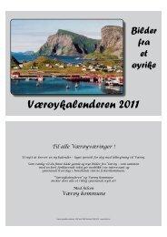 Værøykalender 2011 - værøya.no