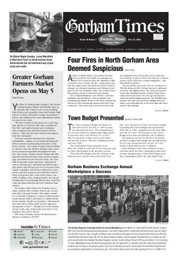 April 12, 2012 - Gorham Times