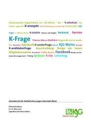 da! Startseite KjGekauftK-anzlerfrage Aktuell KjG Mainz Kontakt K ...