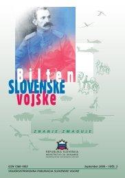 bilten slovenska vojske.indd - Slovenska vojska