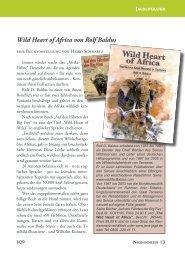 Wild Heart of Africa von Rolf Baldus - wildlife-baldus.com