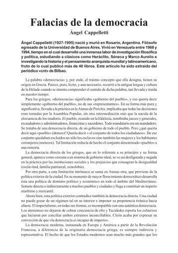 Cappelletti-Democracia