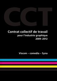 Industrie graphique: CCT 2009 - 2012