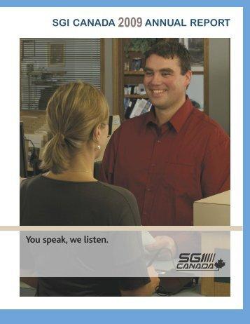 Full report - SGI Canada