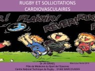 Rugby : Sollicitations cardiovasculaires - Club des Cardiologues du ...