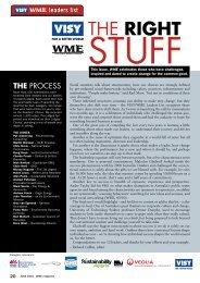 THE RIGhT - WME magazine