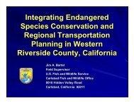 Riverside Habitat Conservation Plan