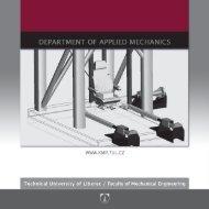 Department of Applied Mechanics