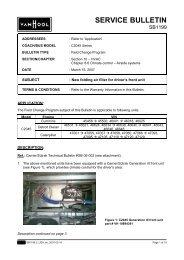 SERVICE BULLETIN - ABC Companies