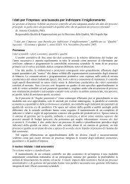I dati per l'impresa: una bussola per indirizzare il ... - Antonio Candiello