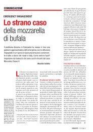 Lo strano caso della mozzarella di bufala - Alumni Network - Luiss