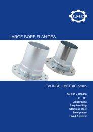LARGE BORE FLANGES - LMC-Couplings
