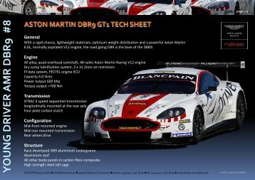 Technical Sheet - Aston Martin