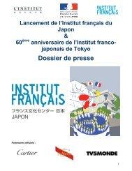 Dossier de presse - Ambassade de France au Japon